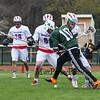 Winnacunnet Warriors Boys Varsity Lacrosse vs Pembroke Academy on Wednesday 5-4-2015 @ WHS.  WHS-14, PA-1.  Matt Parker Photos