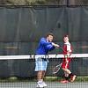 Winnacunnet Warriors Boys Tennis vs the Red Raiders of Spaulding High School on Monday @ WHS.  WHS-8, SHS-1.  Matt Parker Photos