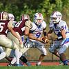 Winnacunnet Boys Freshman Football vs Alvirne High School on Thursday 9-8-2016 @ WHS.  Matt Parker Photos