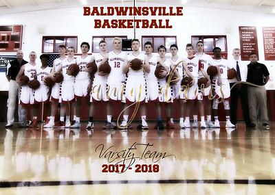 2017 - 2018 BVille Basketball Team