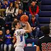 Winnacunnet Warriors Boys Basketball vs The Bulldogs of Bedford High School on Friday 1-13-2017 @ WHS.  Matt Parker Photos
