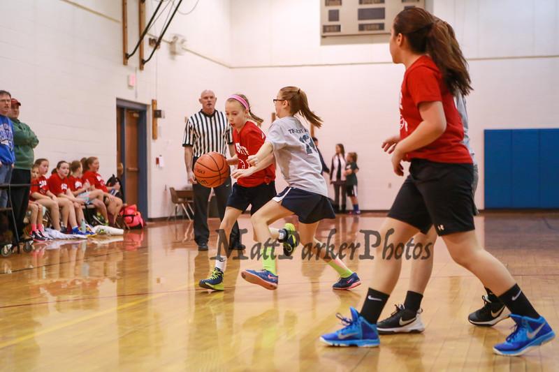 HYA Basketball on Saturday 1-14-2016 @ Marston School and The Rim, Hampton NH.  Matt Parker Photos
