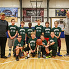 HYA 5-6 Coed Basketball Team Photo Michigan State sponsored by Greg's Bistro on Saturday 1-14-2017 @ Marston School, Hampton, NH.  Matt Parker Photos