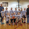 HYA 5-6 Girls Basketball Team Photo UCONN sponsored by Tri Rent All on Saturday 1-14-2017 @ Marston School, Hampton, NH.  Matt Parker Photos