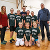HYA 5-6 Girls Basketball Team Photo Michigan State sponsored by Liberty Lane Catering on Saturday 1-14-2017 @ Marston School, Hampton, NH.  Matt Parker Photos