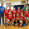 HYA 5-6 Girls Basketball Team Photo Ohio State sponsored by 401 Tavern on Saturday 1-14-2017 @ Marston School, Hampton, NH.  Matt Parker Photos