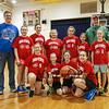 HYA 5-6 Girls Basketball Team Photo Ohio State sponsored by 401 Tavern on Saturday 1-14-2017 @ Marston School, Hampton, NH.  Matt Parker Photos