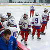 Winnacunnet Warriors Ice Hockey vs The Red Raiders of Spaulding High School on Wednesday 1-18-2017 @ The Rinks at Exeter. Matt Parker Photos