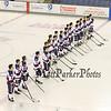 Winnacunnet Warriors Ice Hockey vs the Bobcats of Oyster River High School on Wednesday 1-4-2017 @ Whittemore Center, UNH, Durham, NH.  Matt Parker Photos