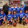 HYA 7-8 Coed Basketball Team Photo Duke sponsored by Bean Insurance on Saturday 1-7-2017 @ The Rim, Hampton, NH.  Matt Parker Photos