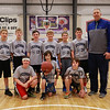 HYA 5-6 Coed Basketball Team Photo UCONN sponsored by Carey & Giampa on Saturday 1-7-2017 @ The Rim, Hampton, NH.  Matt Parker Photos