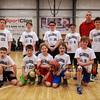 HYA 5-6 Coed Basketball Team Photo Villanova sponsored by KB's Bagels All on Saturday 1-7-2017 @ The Rim, Hampton, NH.  Matt Parker Photos
