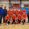 HYA 7-8 Coed Basketball Team Photo Syracuse sponsored by 401 Tavern on Saturday 1-7-2017 @ The Rim, Hampton, NH.  Matt Parker Photos