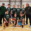 HYA 7-8 Coed Basketball Team Photo Michigan State sponsored by Tri Rent All on Saturday 1-7-2017 @ The Rim, Hampton, NH.  Matt Parker Photos