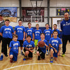HYA 5-6 Coed Basketball Team Photo Duke sponsored by Blue Water Mortgage on Saturday 1-7-2017 @ The Rim, Hampton, NH.  Matt Parker Photos