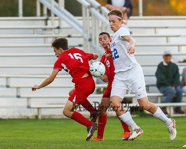 2017-10-10 WHS Boys Soccer vs Pinkerton