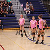 """Winnacunnet Warriors Girls Volleyball vs the Red Raiders of Spaulding High School in DIV I play on """"Dig Pink"""" night in recognition of Breast Cancer awareness month on Tuesday 10-10-2017 @ WHS.  Matt Parker Photos"""