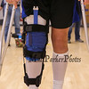 Meg Knollmeyers knees after surgery which went very well and praying for a speedy recovery at the Winnacunnet Warriors Volleyball on Senior Night vs the Crimson Tide of Concord High School on Friday 10-20-2017 @ WHS.  WHS-0, CHS-3.  Matt Parker Photos