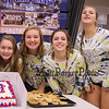 Winnacunnet Warriors Volleyball on Senior Night vs the Crimson Tide of Concord High School on Friday 10-20-2017 @ WHS.  WHS-0, CHS-3.  Matt Parker Photos