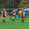 Winnacunnet Warriors (#4) Girls Soccer vs the Crimson Tide (#5) of Concord in Sunday's DIV I Quarterfinal game on 10-29-2017 @ WHS.  WHS-1, CHS-2.  Matt Parker Photos