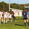 Winnacunnet Warriors Girls Soccer vs the Crusaders of Memorial High School in NHIAA DIV I play on Wednesday 10-4-2017 @ WHS.  WHS-0, MHS-0.  Matt Parker Photos