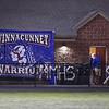 The Crusaders of  Memorial High School host the Winnacunnet Warriors in NHIAA DIV I  Friday Night's football game on 10-6-2017 @ Memorial High School. MHS-8, WHS-68.  Matt Parker Photos