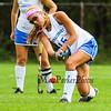 Winnacunnet's #15 Audrey Canfield takes a shot during Friday's DIV I Field Hockey game vs Salem on 10-6-2017 @ WHS.  Matt Parker Photos