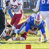 Winnacunnet's OL #74 James Phennicie is handed the ball and dives for a touchdown in the 2nd quarter during Saturday's NHIAA DIV I semifinal game between Winnacunnet and Goffstown High Schools on 11-11-2017 @ WHS.  Matt Parker Photos