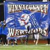 Winnacunnet Warriors Football vs the Astros of Pinkerton Academy in the NHIAA DIV I Finals on Saturday 11-18-2017 @ Wildcat Stadium, UNH, Durham, NH.  WHS-41, PA-21.  Matt Parker Photos