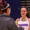 Winnacunnet Warriors Girls Basketball vs the Blackbirds of Keene High School on Tuesday 12-19-2017 @ WHS.  WHS-48, KHS-35.  Matt Parker Photos