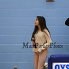 Sofia Testa a freshman at Oyster River HS sings the National Anthem at the Winnacunnet Warriors Boys Basketball vs the Oyster River Bobcats in the semi-final round of the 2017 Oyster River High School Bobcat Invitational Boys Basketball Tournament on  Wednesday 12-27-2017 @ Oyster River HS.  WHS-60, ORH-55.  Matt Parker Photos