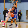 Winnacunnet Warriors Boys Basketball vs the Oyster River Bobcats in the semi-final round of the 2017 Oyster River High School Bobcat Invitational Boys Basketball Tournament on  Wednesday 12-27-2017 @ Oyster River HS.  WHS-60, ORH-55.  Matt Parker Photos
