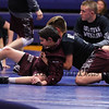 Goffstown warms up at the Winnacunnet Warriors Wrestling vs the Grizzlies of Goffstown High School on Wednesday 12-6-2017 @ WHS.  Matt Parker Photos