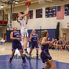 Winnacunnet's #20 Danielle Boucher makes an easy layup with South players looking on during Tuesday's NHIAA DIV I Girls Basketball game between Winnacunnet and Nashua South on 2-14-2017 @ WHS.  Matt Parker Photos