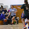 North Carolina's #5 Abby McDonald makes a break up the floor during the 5th and 6th grade girls basketball game at the 2017 HYA Basketball Championship Family Day Basketball games on Saturday 2-18-2017 @ Marston School, Hampton, NH. Matt Parker Photos