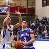 Winnacunnet Warriors Boys Basketball vs The Lancers of Londonderry High School on Wednesday 2-22-2017 @ WHS.  Matt Parker Photos