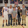 Winnacunnet Warriors Boys Basketball vs The Clippers of Portsmouth High School on WHS Senior Night, 2-24-2017 @ WHS.  Matt Parker Photos