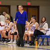 Winnacunnet's Head Coach Cassie Turcotte on the sidelines at Wednesday's NHIAA DIV I preliminary playoff Girls Basketball game between Winnacunnet and Salem High Schools on 3-1-2017 @ WHS.  Matt Parker Photos