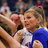 Winnacunnet's Head Coach Cassie Turcotte talks with her players during a timeout at Wednesday's NHIAA DIV I preliminary playoff Girls Basketball game between Winnacunnet and Salem High Schools on 3-1-2017 @ WHS.  Matt Parker Photos