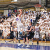 Winnacun1net's #10 Freddy Schaake dunks over Exeter's #20 Jake Ross and #14 Ethan Pollet with seconds remaining in the 3rd quarter during Friday's NHIAA DIV I Quarter Finals Boys Basketball game between Winnacunnet and Exeter on 3-10-2017 @ WHS.  Matt Parker Photos