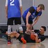 Hampton Recreation Basketball Finals between Black and Blue on Saturday 3-18-2017 @ WHS.  Matt Parker Photos