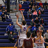 Winnacunnet Warriors Boys Basketball vs the Broncos of Alvirne High School at Tuesday's NHIAA DIV I First Round playoff basketball game on 3-7-2017 @ WHS.  Matt Parker Photos