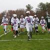 Winnacunnet Warriors Boys Reserves Lacrosse vs Dover on Monday 4-22-2017 @ WHS.  Matt Parker Photos