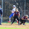 Winnacunnet Warriors Girls Varsity Softball vs The Owls of Timberlane High School on Monday 4-24-2017 @ WHS.  Matt Parker Photos