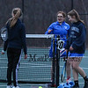 Winnacunnet Warriors Girls Tennis vs the Tomahawks of Merrimack High School on Wednesday 4-5-2017 @ WHS.  WHS-5, MHS-4.  Matt Parker Photos