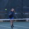 Winnacunnet Warriors Girls Tennis vs the Tomahawks of Merrimack High School on Wednesday 4-5-2017 @ WHS.  WHS-5, MHS-4.  Matt Parker Photos