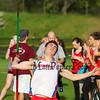 Winnacunnet Warriors Boys and Girls Spring Track meet vs the Bull Dogs of Bedford High School on Tuesday 5-16-2017.  Matt Parker Photos