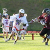 Winnacunnet Warriors JV Boys Lacrosse vs Derryfield School on Friday 5-19-2017 @ WHS.  Matt Parker Photos