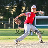 Exeter Red's relief pitcher #15 Conre Wyskiel winds up to throw a pitch at Monday's 1st Round Seacoast Baseball U13-14 playoffs between Hampton Black vs Exeter Red on 6-26-2017 @ Tuck Field Hampton, NH.  Matt Parker Photos