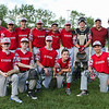 Exeter Red's U13-14 baseball team poses for a photo after their 1st round playoff game on Monday 6-26-2017 @ Tuck Field Hampton, NH.  Matt Parker Photos